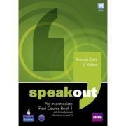 Speakout Pre-intermediate Flexi Course Book 1 - Antonia Clare