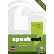 Speakout Pre-intermediate Workbook with Key and Audio CD - Antonia Clare