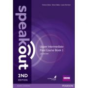 Speakout Upper Intermediate 2nd Edition Flexi Coursebook 1 Pack - Antonia Clare