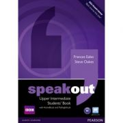 Speakout Upper Intermediate Students' Book with DVD/Active Book and MyLab Pack - Frances Eales