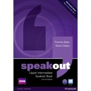 Speakout Upper Intermediate Students' Book with DVD Active Book - Frances Eales