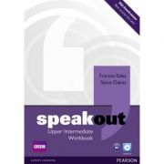 Speakout Upper Intermediate Workbook no Key and Audio CD - Frances Eales