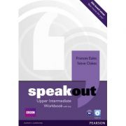 Speakout Upper Intermediate Workbook with Key and Audio CD - Frances Eales