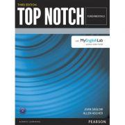 Top Notch 3e Fundamentals Student Book with MyEnglishLab - Joan Saslow