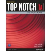 Top Notch 3e Level 1 Student Book Workbook Split A - Joan Saslow