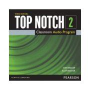 Top Notch 3e Level 2 Class Audio CD - Joan Saslow