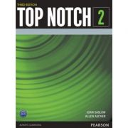 Top Notch 3e Level 2 Student Book Split B with MyEnglishLab - Joan Saslow