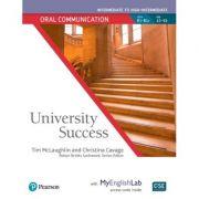 University Success Intermediate Oral Communication Student Book with MyEnglishLab - Tim McLaughlin, Christina Cavage, Robyn Brinks Lockwood