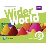 Wider World Level 2 Class Audio CDs
