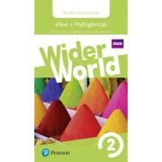 Wider World Level 2 MyEnglishLab & Students' eText Access Card