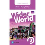 Wider World Level 3 MyEnglishLab & Students' eText Access Card