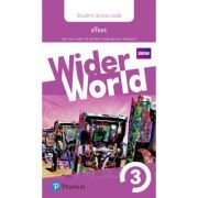Wider World Level 3 Students' eText Access Card