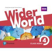 Wider World Level 4 Class Audio CDs