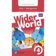 Wider World Level 4 MyEnglishLab & Students' eText Access Card