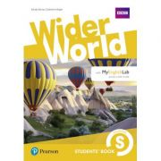 Wider World Level Starter Students' Book with MyEnglishLab Pack