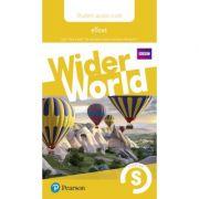 Wider World Level Starter Students' eText Access Card
