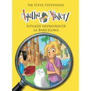 Agatha Mistery. Volumul 8, Situatie neprevazuta la Barcelona - Sir Steve Stevenson