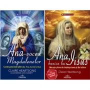 Pachet Mesaje telepatice de la Ana, autor Claire Heartsong