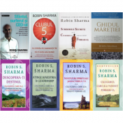Seria completa Robin Sharma - Set 8 Volume