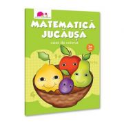 Matematica jucausa. Caiet de colorat