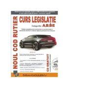 Noul cod rutier. Curs legislatie rutiera A, B, BE (CD gratuit cu peste 2000 de intrebari) - Editura Radulescu