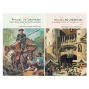 Set Don Quijote de la Mancha, 2 volume - Miguel de Cervantes