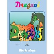 Dragoni - carte de colorat