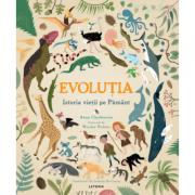Evolutia. Istoria vietii pe Pamant - Anna Claybourne