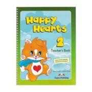 Happy Hearts 2. Teachers Book. Curs de limba engleza pentru prescolari - Jenny Dooley