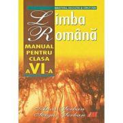 Limba romana, manual clasa VI - Anca Serban