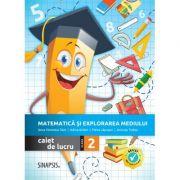 Matematica si explorarea mediului. Caiet de lucru pentru clasa a II-a - Anca Veronica Taut, Anicuta Todea, Adina Achim, Elena Lapusan