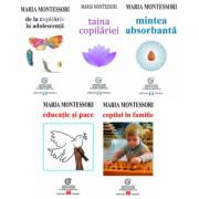 Despre educatia, dezvoltarea, drepturile si evolutia copilului, autor Maria Montessori - Pachet 5 carti