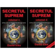 Pachet Secretul Suprem volumele 1 si 2, autor David Icke