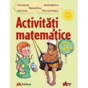 Activitati matematice pentru grupa mica - Florica Ancuta