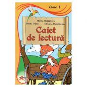 Caiet de lectura pentru clasa I - Mirela Mihailescu