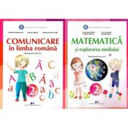 Set Manuale - Comunicare in limba romana si Matematica si explorarea mediului pentru clasa a II-a, autor Constanta Balan, Gabriela Barbulescu