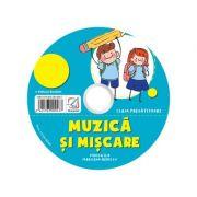 CD audio Muzica si miscare – caiet de lucru pentru clasa pregatitoare