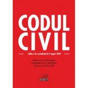 Codul civil. Editia a 8-a, actualizata la 9 august 2020 - Doru Traila, Dan Lupascu, Radu Rizoiu