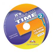 Curs de gramatica limba engleza It's Grammar Time 2 Teste CD-ROM - Jenny Dooley, Virginia Evans