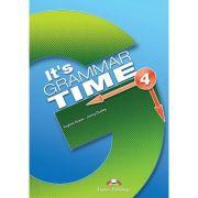 Curs de gramatica limba engleza It's Grammar Time 4 Manualul elevului cu Digibook App - Jenny Dooley, Virginia Evans