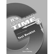 Curs de gramatica limba engleza It's Grammar Time 4 Teste - Jenny Dooley, Virginia Evans