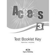 Curs limba engleza Access 3 Cheie la teste - Virginia Evans, Jenny Dooley