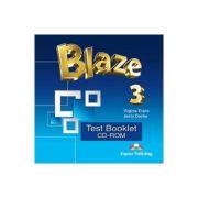 Curs limba engleza Blaze 3 Test Booklet CD-ROM