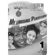 Curs limba engleza Blockbuster 1 My Language Portfolio - Jenny Dooley, Virginia Evans