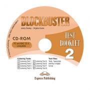 Curs limba engleza Blockbuster 2 CD-ROM cu teste - Jenny Dooley, Virginia Evans