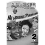 Curs limba engleza Blockbuster 2 My Language Portfolio - Jenny Dooley, Virginia Evans