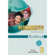 Curs limba engleza Blockbuster 3 Caietul elevului - Jenny Dooley, Virginia Evans