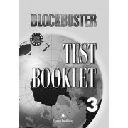 Curs limba engleza Blockbuster 3 Teste - Jenny Dooley, Virginia Evans