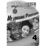 Curs limba engleza Blockbuster 4 My Language Portfolio - Jenny Dooley, Virginia Evans