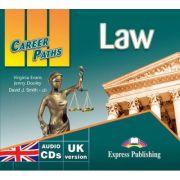 Curs limba engleza Career Paths Law Audio. Set de 2 CD-uri - Virginia Evans, Jenny Dooley, David J. Smith